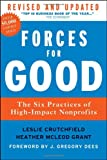 img - for Forces for Good: The Six Practices of High-Impact Nonprofits book / textbook / text book