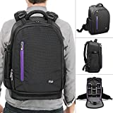 Altura Photo Camera Backpack for DSLR Camera, Laptop, Lenses and Accessories