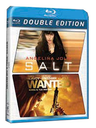 Salt + Wanted [Blu-ray] [IT Import]