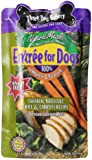 Three Dog Bakery Entree For Dogs, Chicken Broccoli Carrots & Rice Recipe, 12 ounces, 7/pack