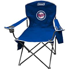 MLB Minnesota Twins XL Cooler Quad Chair by Coleman