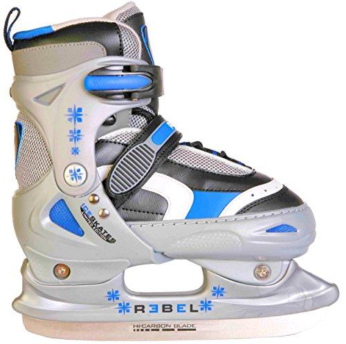 Rebel Kinder Schlittschuhe Ice Star blau verstellbar 34-37