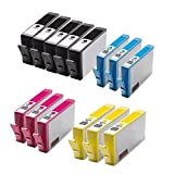 14 Compatible High Capacity Printer Ink Cartridges Replacement for 364 XL For HP Photosmart 5510 5511 5512 5514 5515 6510 6512 6515 7510 7515 B010a B109a B109d B109f B110a B110c B110e HP Photosmart Plus B209a B209c B210a B210c HP Deskjet 3070A 3520 Offic