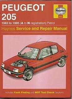 Peugeot 205 GTI Haynes Manual