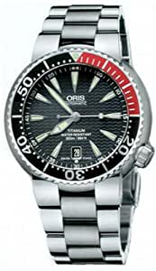 Oris TT1 Divers Titan Date Titanium Men's Watch # 733 7562 7154-MB