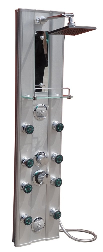 Duschpaneel Regendusche Duscharmatur Dusche Duschsäule Bad Säule Armatur   Kritiken und weitere Informationen