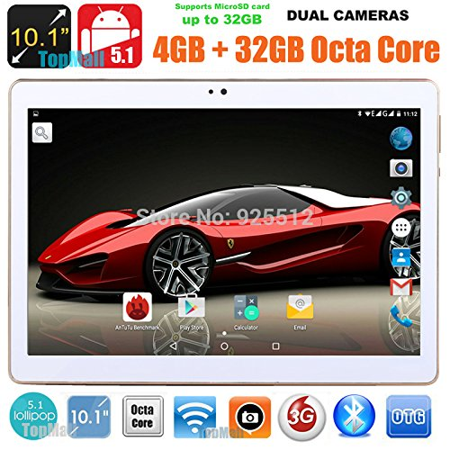 Black 9.7 inch 8 core Tablet PC Octa Cores 1280X800 IPS RAM 4GB ROM 32GB 8.0MP WIFI 3G Dual sim card Wcdma+GSM Tablets PCS Android5.1