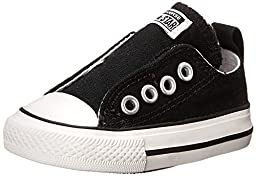 Converse Unisex Baby All Star Simple Slip - Black - 3