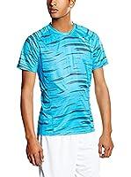 Puma Camiseta Manga Corta Graphic (Azul)