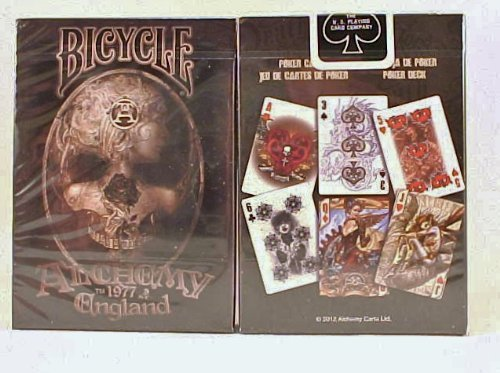2 Decks Alchemy II Bicycle Playing Cards