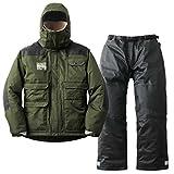 ロゴス リプナー タフ防水防寒スーツ フォルテ 30369573 カーキ M