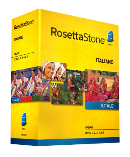 Learn Italian: Rosetta Stone Italian - Level 1-5 Set (Download Code Included)
