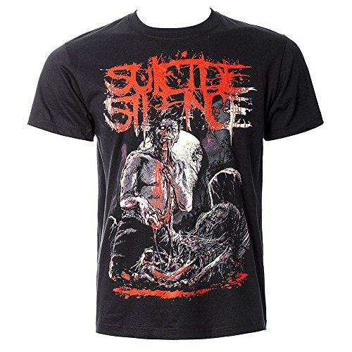 Suicide Silence -  T-shirt - Maniche corte  - Uomo Nero  nero Medium