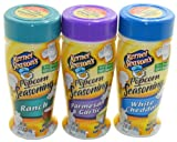 Kernel Seasons Popcorn Seasoning Variety Pack of 3 Ranch Parmesan & Garlic and White Cheddar