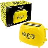 Promobo -Grille Pain Toaster Petit Déjeuner Tartine Smiley World Déco Cuisine Tendance