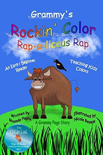 Grammy's Rockin' Color Rap-a-licious Rap cover