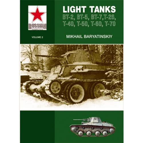 Light Tanks T-27, T-38, BT, T-26, T-40, T-50, T-60, T-70 (Russian Armour) M. Bari?a?tinski?