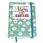 Oh Gussie Oh My Stars and Garters Blank Journal