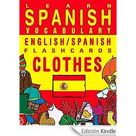 learn spanish vocabulary   english spanish flashcards
