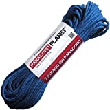 Paracord Planet Mil-Spec Commercial Grade 550lb Type III Nylon Paracord 25 feet Royal Blue