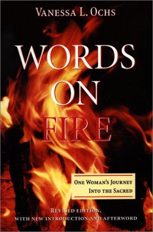 在火上的字: 一个女人走进神圣