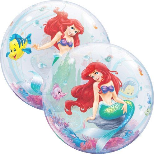 Ballooney's~Disney's Ariel the Little Mermaid Bubble Balloon