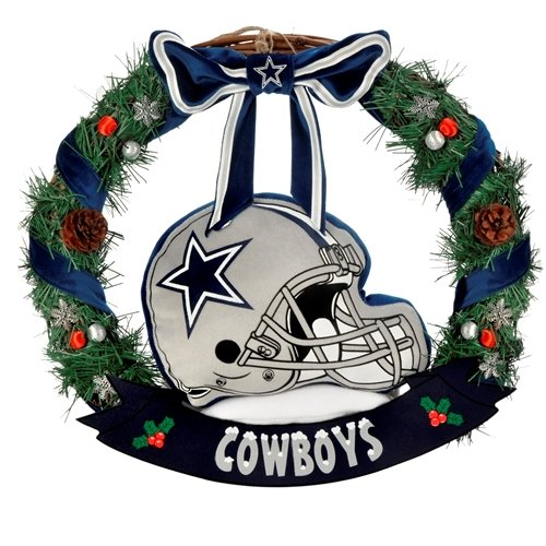 Dallas Cowboys 20'' Helmet Door Wreath at Amazon.com