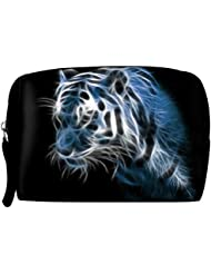 Snoogg Shine Tiger Digital Travel Buddy Toiletry Bag / Bag Organizer / Vanity Pouch
