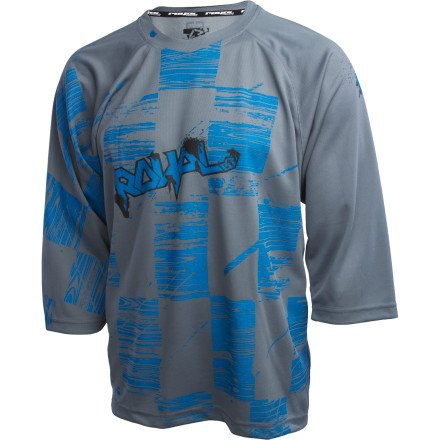 Buy Low Price Royal Racing Ride Blasted Check Bike Jersey – 3/4 Sleeve – Men's (B0071X28C2)