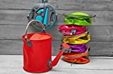 COLOURWAVE Collapsible 2-in-1 Watering Can/Bucket, 7-Liter, Funky Purple