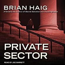 Private Sector: Sean Drummond Series, Book 4 Audiobook by Brian Haig Narrated by Joe Barrett