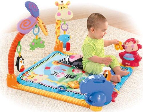 Imagen 5 de Fisher-Price - W2620  - Gimnasio abierto para animales [Importado de Alemania] (Mattel)