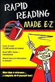 Rapid Reading Made E-Z (Made E-Z Guides) (1563824477) by Scheele, Paul R.