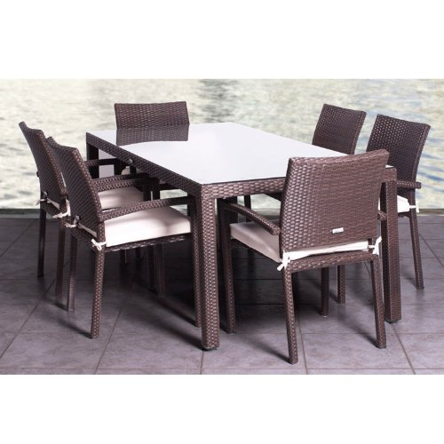 Dining Set Clearance: Patio Sets Clearance: Atlantic Liberty 7-Piece Dining Set