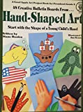 img - for Hand-Shaped Art (48 Creative Bulletin Boards) Cloth Bound Library Edition book / textbook / text book