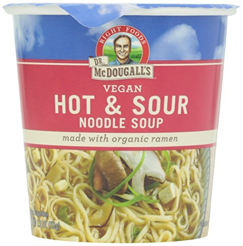 Dr McDougall's Organic Hot & Sour Big Soup Cup ( 6x1.9 OZ) by Dr. McDougall's