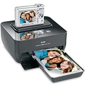 Kodak Easyshare C613 6.2 MP Digital Camera with 3xOptical Zoom with G610 Printer Dock Bundle