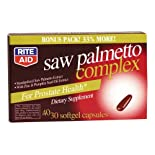 Rite Aid Saw Palmetto Complex, Softgel Capsules 40 ea