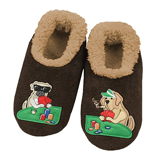 snoozies-mens-mancave-splitz-non-skid-slipper-socks-dogs-playin-cards-large