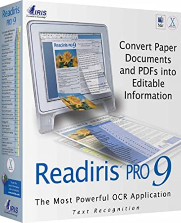ReadIris Pro 9 for Mac OS X
