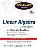 img - for Schaum's Outline of Linear Algebra Fourth Edition (Schaum's Outline Series) by Seymour Lipschutz (2008-08-26) book / textbook / text book