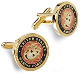 Cufflinks Inc. Mens Us Marine Corp Cufflink