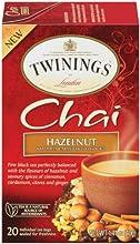 Twinings Chai Tea Hazelnut 20 Count