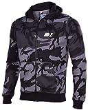 Nike Blk Camo Hoody#545249-021
