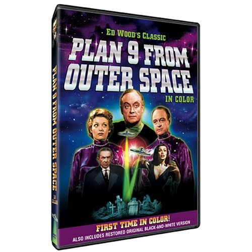 51KYS5NR8ZL. SS500  Plan Nine From Outer Space   Colorized on DVD