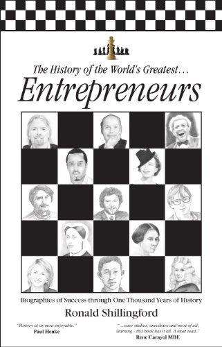 The History of the World's Greatest Entrepreneurs: The Biography of Success cover