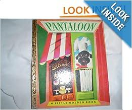 Pantaloon A Little Golden Book Kathryn Jackson Leonard border=