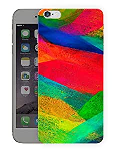 "Paint Splatters Printed Designer Mobile Back Cover For ""Apple Iphone 6 Plus - 6s Plus"" (3D, Matte, Premium Quality Snap On Case)"