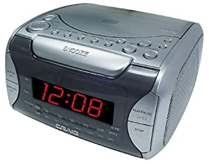 cd player am fm alarm clock radio toys games. Black Bedroom Furniture Sets. Home Design Ideas