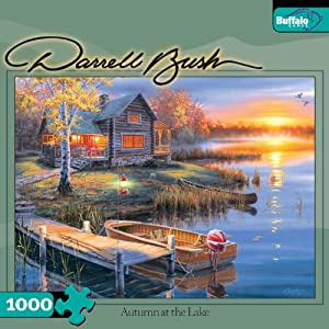 Darrell Bush: Autumn at the Lake 1000pc Jigsaw Puzzle